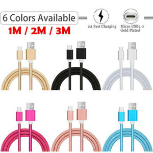 Extra Long Micro USB Data Charger Cable for Samsung Galaxy A10 J3 J5 2017