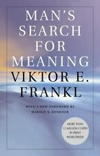 Mans Search for Meaning by Viktor E Frankl (paperback)