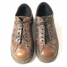 Dr. Martens Brown Aw004 Pc03D 9764 Lace-up Oxfords Made In England Us Size 10.5