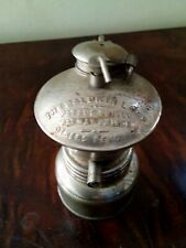 Antique Baldwin Carbide Miners Lamp Patent 1900 +1906 patents