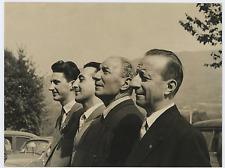 Franco Berger, Marco Miccoli, Felice Tacconi e Paolo FTorel Vintage silver print