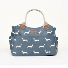 Brakeburn Sausage Dog Day Bag - Teal - BNWT