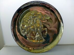 Sterling 925 Salvador Dali Collectors Plate The Lincoln Mint Unicorn Dyonisiaque
