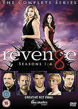 Revenge Season 1 to 4 Complete Collection DVD NEW DVD (BUG0255601)