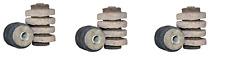 6 Pack Wool Felt Fuel Oil Filter Fits AutoFlo F300 General Filters 1A-25A Mitco