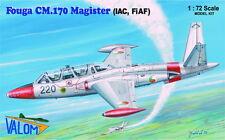Valom 1/72 Model Kit 72089 Fouga Magister CM.170 Fouga Magister Finland, Ireland