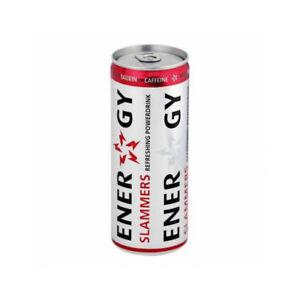 Energy Drink Slammers  XXL Party Pack mit 48 Dosen frisch ab Werk
