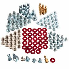 134pcs Computer Screws Kit for Motherboard PC Case Fan CD-ROM Hard Disk Notebook