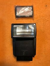 Canon Speedlite (199A) Black Flash With Black Case and Diffuser