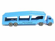 Matchbox Lesney A-2a Bedford S Type Car Transporter (MW, LARGE SIZE LETTERING)