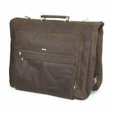 Kleidertasche Anzugtasche Paladin von JONEZ aus echtem Nappaleder in braun