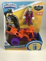 New Fisher Price Imaginext Streets of Gotham City Batman The Joker & Cycle
