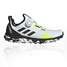 adidas Womens Terrex Agravic Boa Trail Running Shoes Trainers Sneakers White