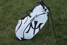 NEW Vessel White Miura Stand 2.0 Golf Bag (6 Way, Carbon Fiber)