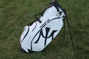NEW Vessel White Miura Stand 2.0 Golf Bag (6 Way, Carbon Fiber)