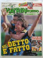 GUERIN SPORTIVO 14-1989 TIFOSERIA GENOA STEAUA BUCAREST MALINES PLATINI JUVENTUS
