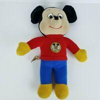 "Vintage Knickerbocker 1976 Mickey Mouse Club Plush Walt Disney Stuffed Doll 15"""