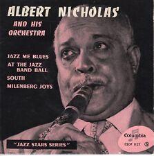 7inch ALBERT NICHOLAS jazz me blues EP FRANCE EX- (S2520)