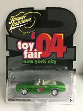 Johnny Lightning 1:64 Die-cast '04 NYC Toy Fair Exclusive '71 Challenger Green
