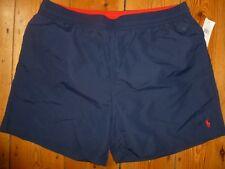 Polo Ralph Lauren Nadar Pantalones Cortos Cintura hawaiano Boxer Azul Marino XXL 2XL 38 - 40IN Nuevo con etiquetas