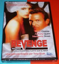 REVENGE Venganza - Kevin Costner & Tony Scott -DVD R2- English español -Precinta