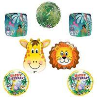 The Jungle Book Giraffe Lion Birthday balloon decoration supplies