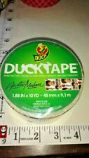 AUSTIN MAHONE,roll of duck tape,unused,10 yrds,hard to find