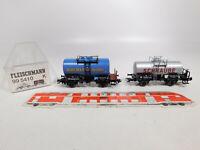 CO770-0,5# Fleischmann H0/DC 99 5410 K Set Kesselwagen DB NEM KK KKK, NEUW+OVP