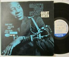 """GRANT GREEN """"GRANT'S FIRST STAND"""" BLUE NOTE 4064-43 W. 61st-EAR-JAZZ-RVG"""