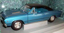 Ertl 1/18 Scale - 7245 1967 Chevrolet Chevelle L-78 - Blue