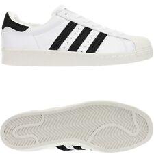 75005395af Adidas Superstar 80s weiß schwarz Herren low-top Kult Sneakers Leder Fell  NEU