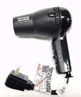 Conair Hair Blow Dryer 1875 Ionic Retractable Cord Dual Volt Travel Cord Keeper