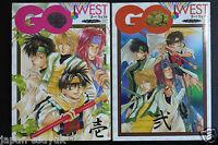 JAPAN YAOI DOUJINSHI Saiyuki Anthology Comic GO!WEST 1~2 Complete Set