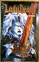 1994 KROME PRODUCTIONS LADY DEATH SERIES 1 *36 PACK* BOX SEALED ALL CHROMIUM