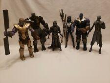 LOT Marvel Legends BAF Avengers Thanos Black Order Corvus Cull Proxima Endgame