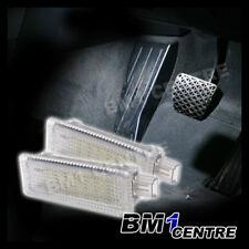 2pcs 18x WHITE LED FOOTWELL LIGHT BMW E87 E90 E92 F07 F20 F30 X3 X5 X6 INTERIOR