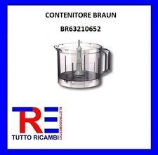 CONTENITORE ROBOT DA CUCINA BRAUN K1000 MULTIPRATIC BRAUN 3210 BR63210652