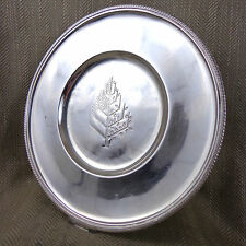 Rare Four Seasons Hotel Silver Plated Charger Plate Under Plate