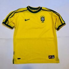 Nike Brasile Vintage Maglia Calcio Nazionale Brasiliana Taglia M Anni 90