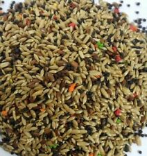 Mixed Bird food Canary seed breeders Millet Flax Vitamin birds small bird food