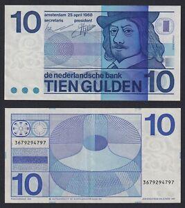 Olanda 10 gulden 1968 SPL++/XF++  A-10