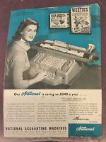 National Cash Register Co. Accounting Machines Advertisement - Australia  - 1957