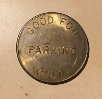 Stanton Cal. Automatic Parking Good For One Parking Only Token