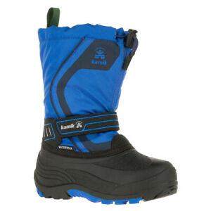 Kamik Youth Snowcoast3 Boots   Black, Pink, Blue Youth Sizes 1, 2, 3, 4, 5, 6  
