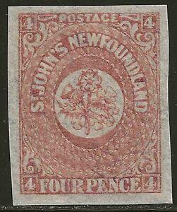 NEWFOUNDLAND #18 MH - Four Pence