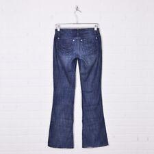 Joes Dark Blue Distressed Nadja Wash Honey Bootcut Stretch Denim Jeans 25 x 31.5