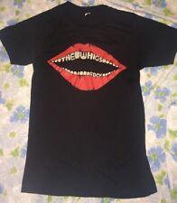 RARE The Whigs ROCK Red Lips Men's T-shirt sz S Rock Band Garage Punk
