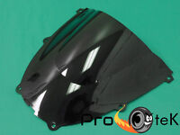 1997-2007 Yamaha YZF600R ABS Black Smoke ABS Double Bubble Windscreen Windshield