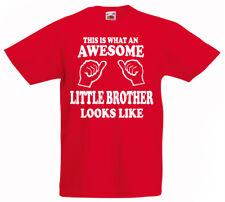 Genial Poco Brother Camiseta 3-13yrs Regalo Boys Cumpleaños Divertido Presente