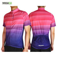Men's Professional Cycling Jerseys MTB Team Bike Riding Quick Dry Tops Jersey